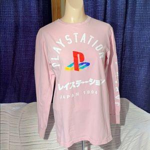 PlayStation 1994 Japan T-shirt Pink